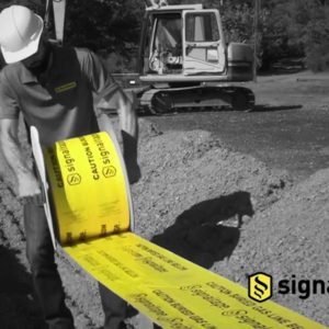 Signaltape® 12 roll out